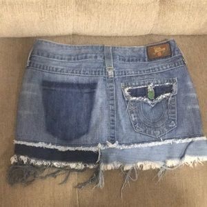 🎊sexy mini denim tones washed destroyed jeans